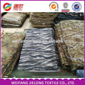 2016 wholesale cheap price polyester/cotton camouflage fabric stock waterproof real tree camouflage fabric