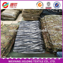 camouflage fabric 120*60 20*16 57'/58' wholesale in bulk cotton polyester twill camouflage fabric for army