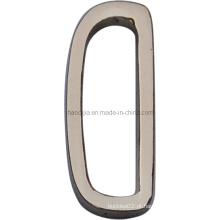 Liga de zinco D anel para vestuário-21814