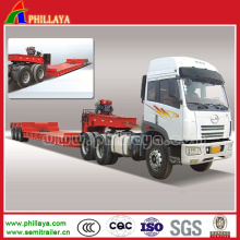 Tank Transport with Hydraulic Steering and Gooseneck Power Pacl