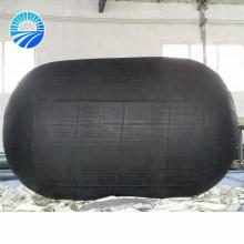 Embarcadouro inflável de flutuação do barco do embarcadouro de borracha