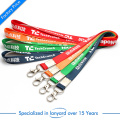 High Quality China Factory Price Customized Logo Printed Lanyard for Company Publicity