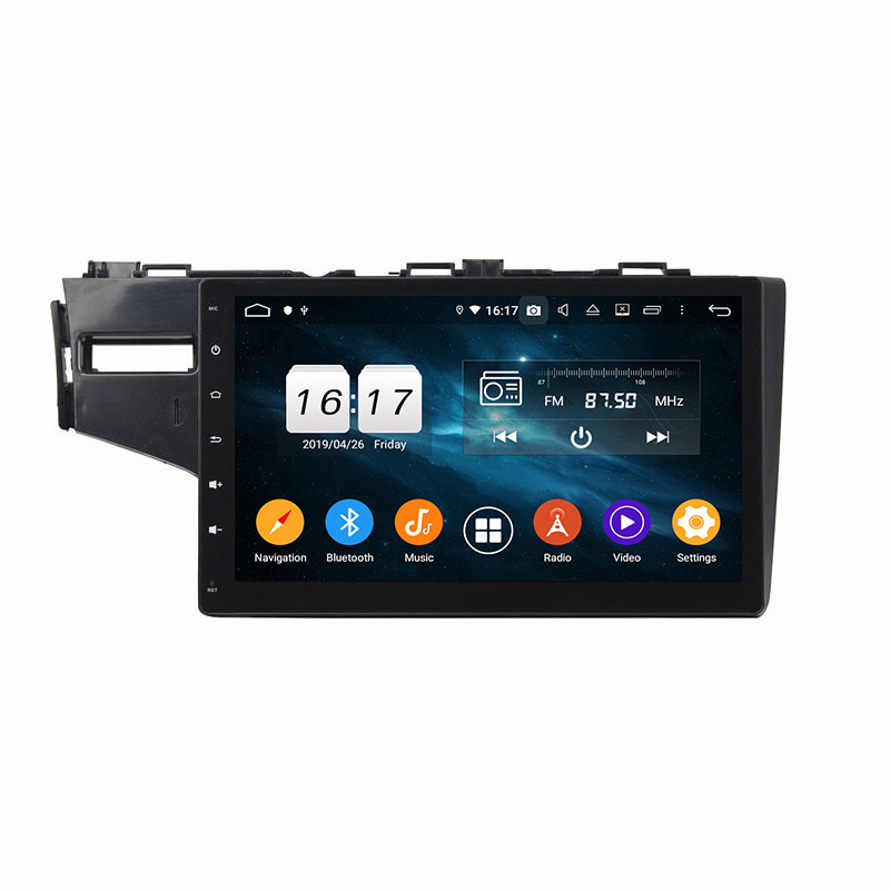 FIT 2014 car multimedia