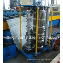 Machine à cintrer les feuilles de toiture émaillées de la Chine chaude