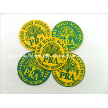 Laser/Heat Cut Border Embroidered Badges Patches (SD-45)