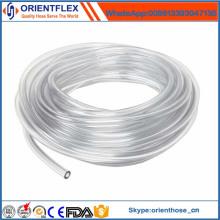 Tuyau en plastique transparent souple flexible de PVC