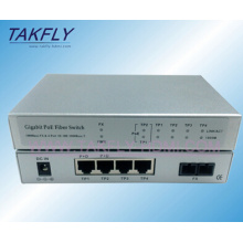1000m1fx 4tp Poe Fiber Optical Switch