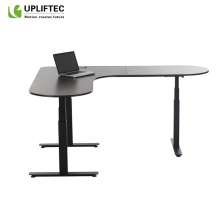 Electric Desk With Wireless Charger
