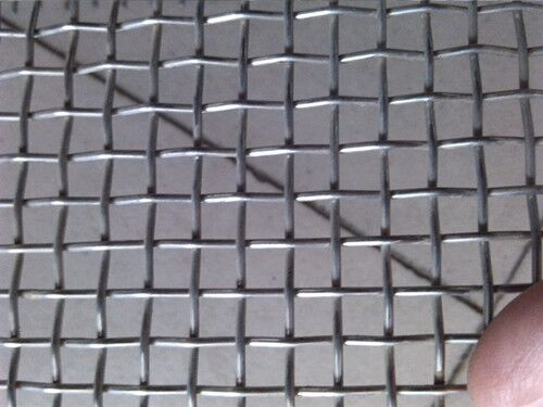 SS scrimped wire mesh