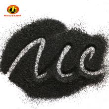 alúmina fundida negra / polvo de óxido de aluminio negro / corindón para abrasivos de chorro de arena