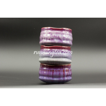 Große Keramikmischung Matcha Teetassen Set