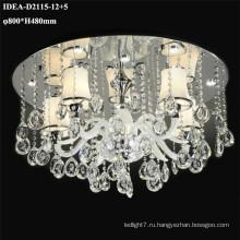 светодиодные свечи люстры современные потолочные лампы