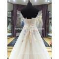 Moderno Simples Elegante Plus Size Barato Appliqued Beading Rhinestone Strapless Alibaba Em Camadas De Chiffon Vestido De Noiva Branco