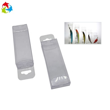 Fishing lure plastic transparent clear PVC box