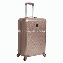 ABS Luggage Set with Brush Shiny Pattern