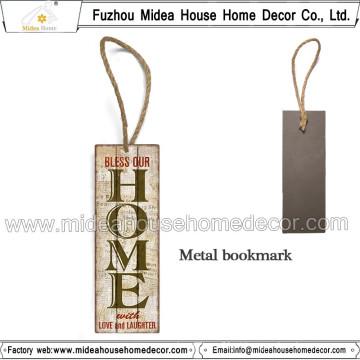Marcador de metal para brindes promocionais