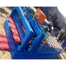Machines automatiques de formage de rouleaux de tuiles glacés hydrauliques Dx