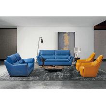 Новый кожаный диван, современный диван (1213)