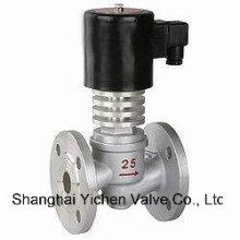 Valve électromagnétique de bride résistante à hautes températures (YCDC41)