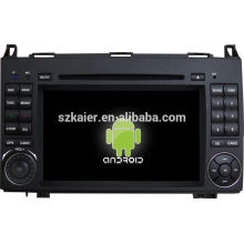 Dual Core ! Android 4.4 touch screen car dvd player for Benz B200 +factory +OEM+Glonass