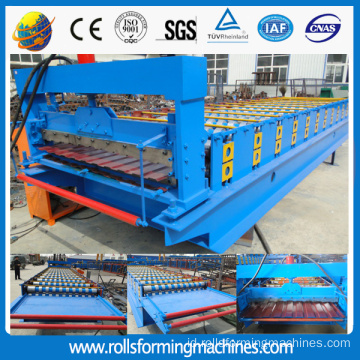 ZT C8 Rusia Profil Genteng Dinding Panel Roll Forming Machine