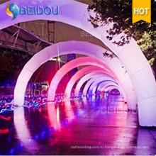 Индивидуальная освещенная линия финишной обработки светодиодов Infatable Archway Advertising Arches