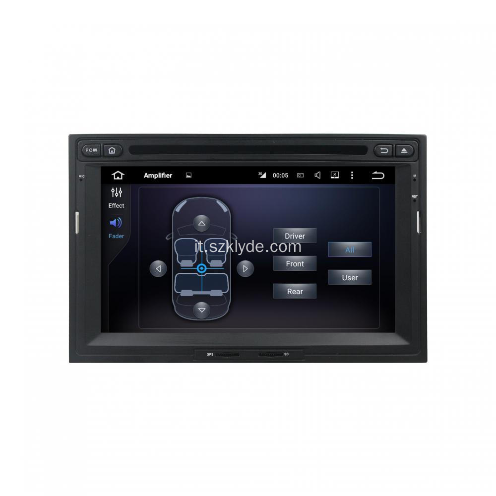 Android 7.1.1 Touchscreen 2008-2013 PEUGEOT 3008