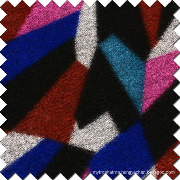 Colorful Wool Woolen Fabric for Fashion Overcoat
