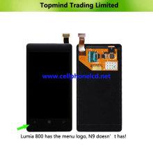 Pantalla LCD con panel de pantalla táctil para Nokia Lumia 800