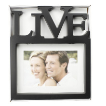 "5""X7"" Mat Photo Frame With Letter Live"