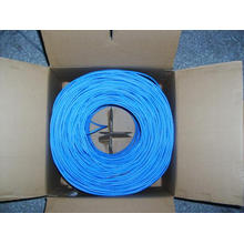 Blue Cat 6 Network Cable with Bc