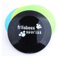 Plastic Transparent Pet Frisbee, Environmental Plastic Advertising Frisbee Dog 22 Cm