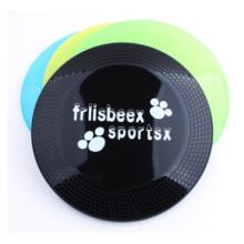 Frisbee en plastique transparent pour animaux de compagnie, publicité plastique en plastique Frisbee Dog 22 Cm