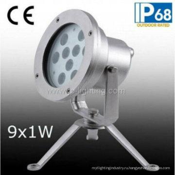 9W светодиодный подводный прожектор для фонтана (JP95591)