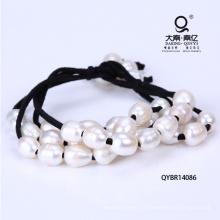Пресной воды жемчужина плетеный браслет Miansai