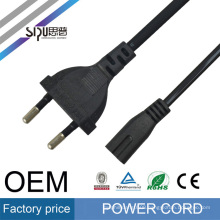 SIPU european power cord plug for laptop and computer factory price power electric wire cable high speed eu power cable