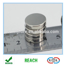 n35 nickle coating round shape advertising magnet