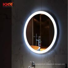 KKR Round Bathmirrors Modern Smart Frameless Bathroom Vanity Led Mirror Anti-Fog Mirror