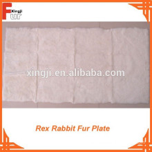 For garment Rex Rabbit Fur Plate