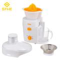 Exprimidor de alta velocidad con carcasa de plástico para naranja