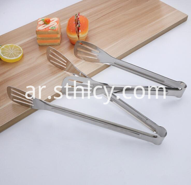 Stainless Steel Tongs Serving