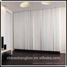 Listón de pvc para ventanas de oficina persianas verticales
