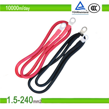 1.5mm2/10mm2 Red Color Single Core PV Solar TUV Certificate PV1-F Photovoltaic Cable
