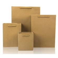 Sacos de papel Kraft Sacos de presentes para roupas, Sacos de compras