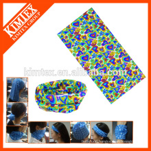 Seamless tube custom multifunctional cheap bandanas for head