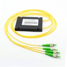 Coulper Fbt Fibre Optique Monophasé 2 * 2 avec Package ABS
