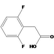 Ácido 2, 6-difluorofenilacético Nº CAS: 85068-28-6