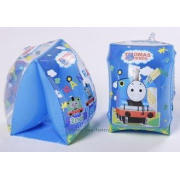 Blue pvc 6P plastic kid inflatable toys , customized water
