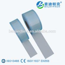 Carrete de rodillo plano de esterilización dental