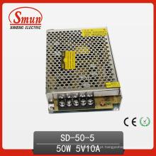 Fonte de alimentação do interruptor do conversor de 50W DC-5VDC